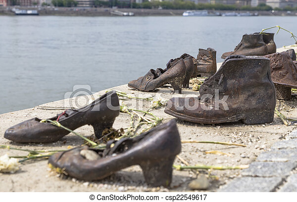 olocausto budapest ungherese scarpe Scarpe Danubio ZnBx6qgwwF