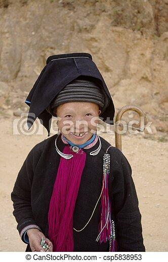 """Dao ethnic black woman """"Tien"""" - csp5838953"""