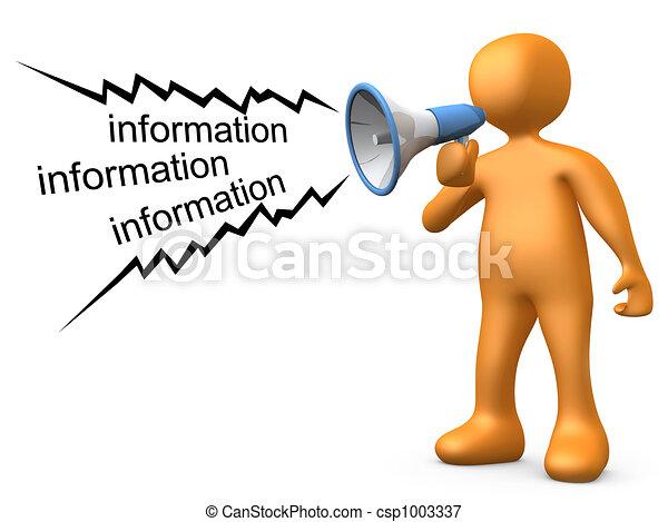 dar, informação - csp1003337