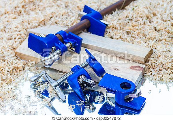 dark blue pipe clamp - csp32247872
