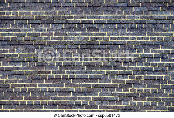 Dark brick wall - csp6581472