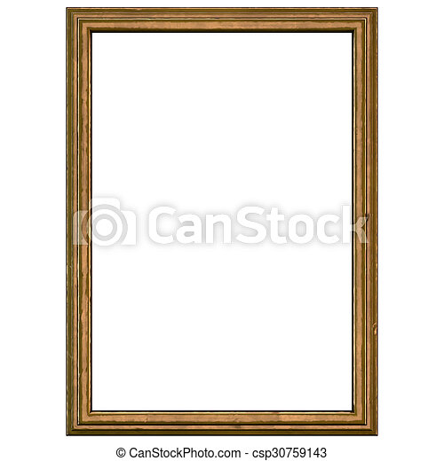 Dark Brown Vintage Frame - csp30759143