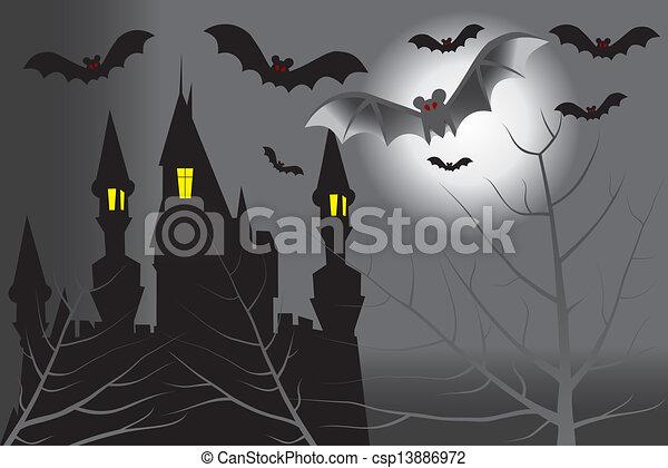 Dark castle - csp13886972
