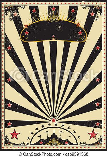 Dark circus - csp9591568