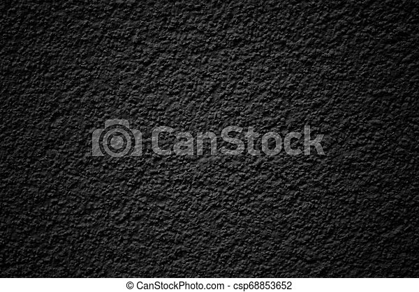 Dark concrete wall, abstract texture background - csp68853652