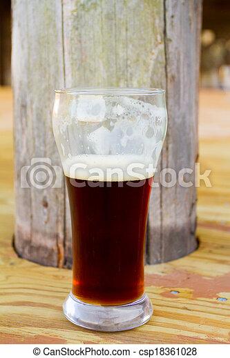 Dark Craft Beer Homebrew Homebrew Beer Brewed For A Wedding