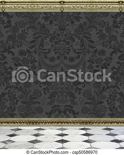 Charcoal Gray Flocking