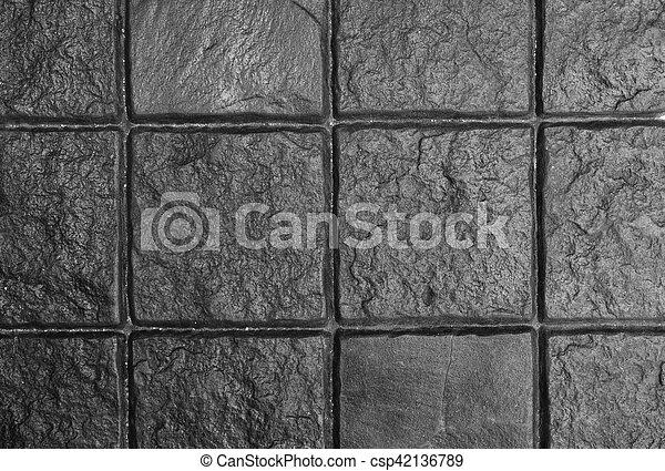 Dark Grey Cobble Stone - csp42136789