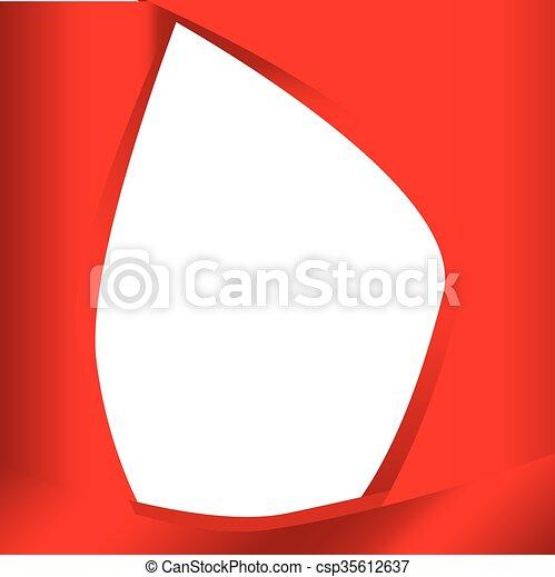 Dark Red Background - csp35612637