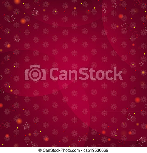 Dark Red Background With Stars - csp19530669
