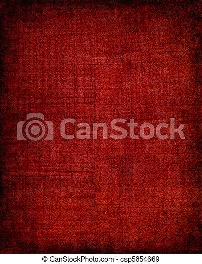 Dark Red Cloth - csp5854669