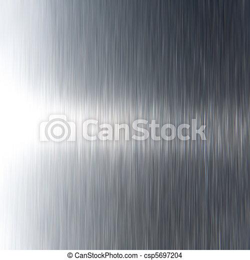 Dark Stainless Steel Texture - csp5697204