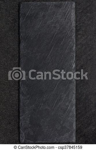 dark stone plate copy space a black dark stone plate copy space frame