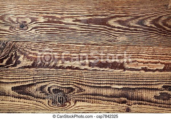 Dark texture of wood  - csp7842325