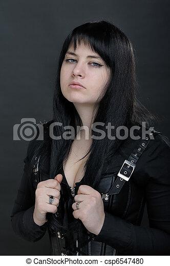 Dark woman - csp6547480