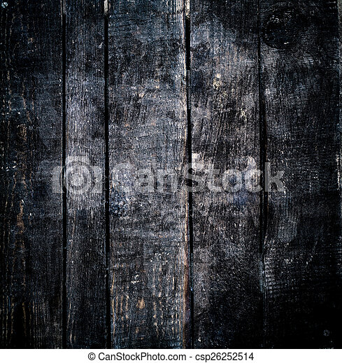 Dark Wood Background Black Wooden Texture