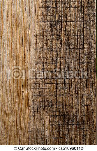 Dark Wood Background - csp10960112