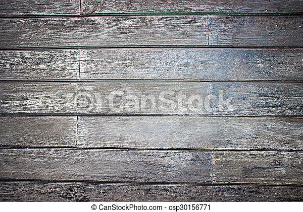 Dark Wood Background - csp30156771