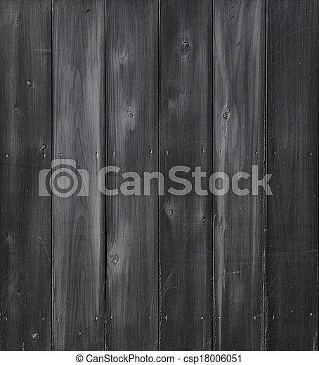 Dark Wood Background - csp18006051