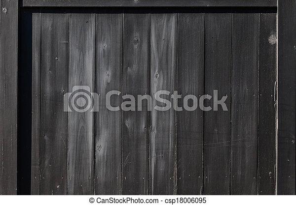 Dark Wood Background - csp18006095