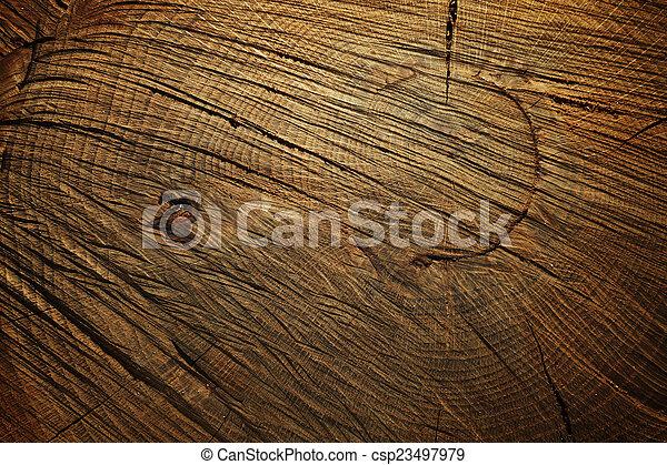 Dark wooden background - csp23497979