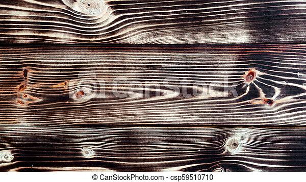 Dark wooden background - csp59510710