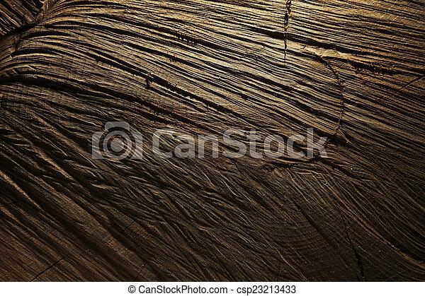 Dark wooden background - csp23213433