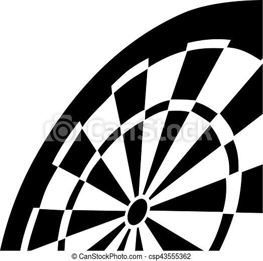 Dartboard - csp43555362