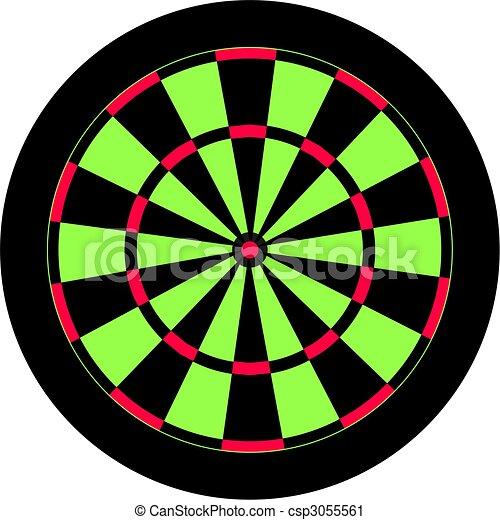 dartboard - csp3055561