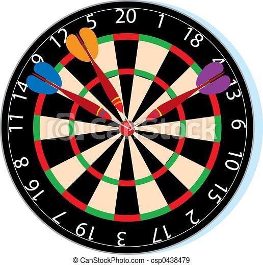 Dartboard - csp0438479