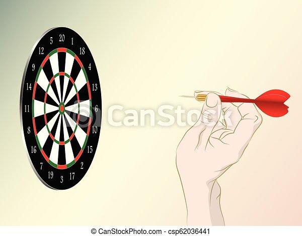 dartboard - csp62036441