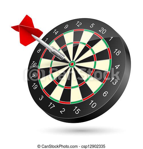 Dartboard - csp12902335