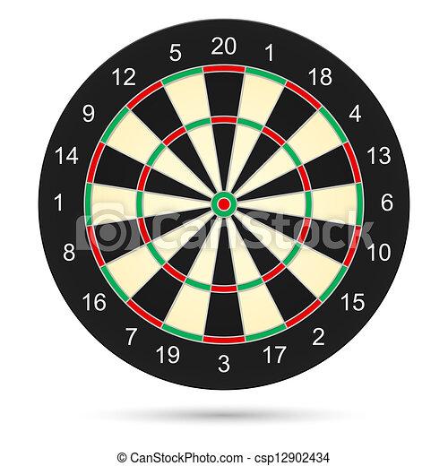 Dartboard - csp12902434