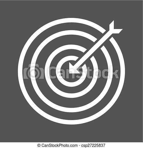 Dartboard - csp27225837