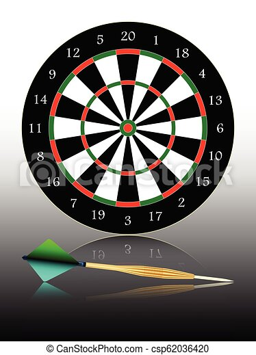 dartboard - csp62036420