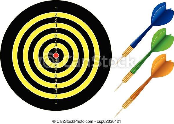 dartboard - csp62036421