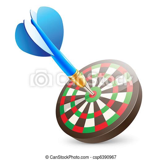 dartboard - csp6390967