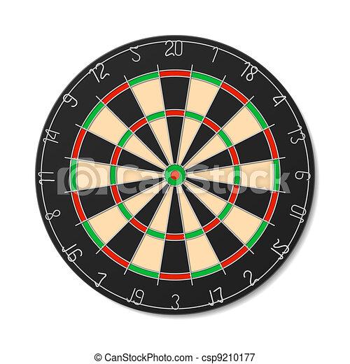 Dartboard - csp9210177