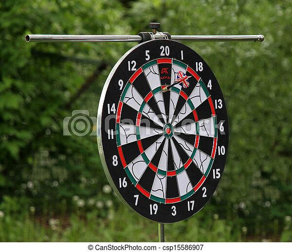 Dartboard - csp15586907