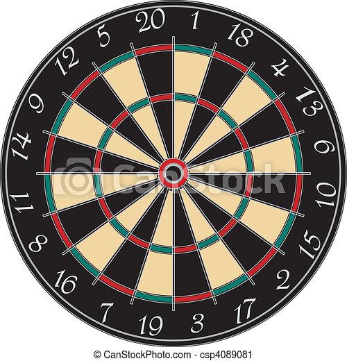 dartboard - csp4089081