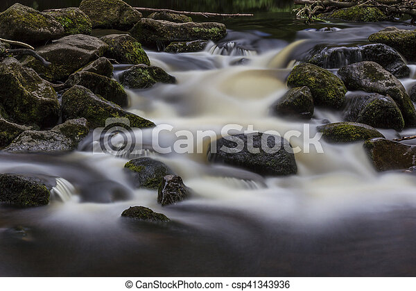 Dartmoor Rapids - csp41343936