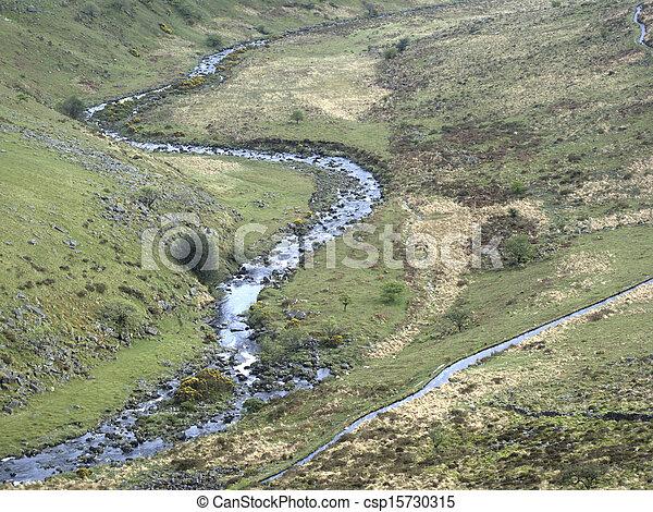 Tavy Cleave, dartmoor - csp15730315