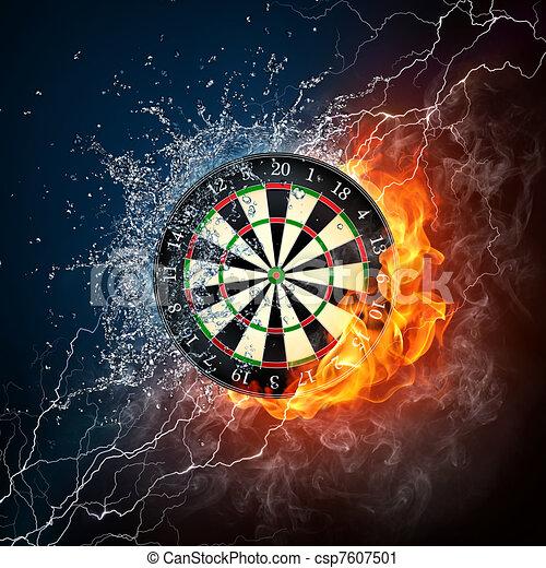 Darts Board - csp7607501