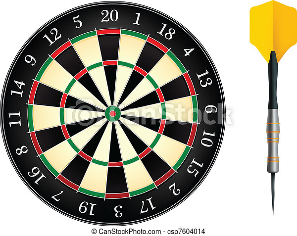 Darts Board - csp7604014