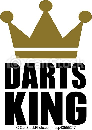 darts king crown vector clip art search illustration drawings rh canstockphoto com king crown vector pictures king crown vector black