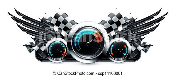 Dashboard emblem, 10eps - csp14168881