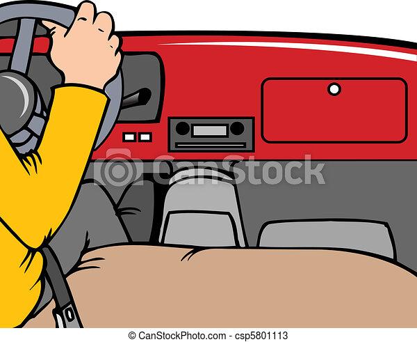 dashboard a interior of a car person driving vectors search clip art illustration drawings. Black Bedroom Furniture Sets. Home Design Ideas