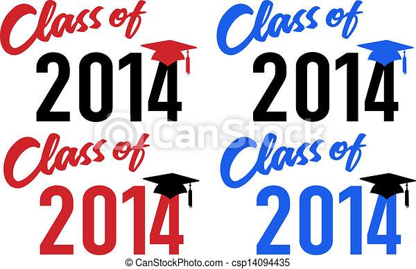 data, 2014, classe scolastica, graduazione - csp14094435