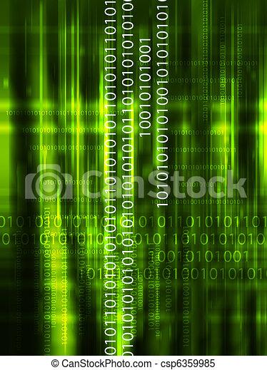 data, achtergrond, illustratie - csp6359985