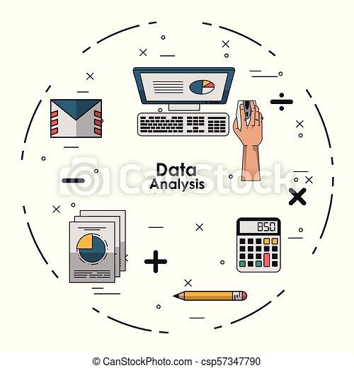 Data analysis concept - csp57347790